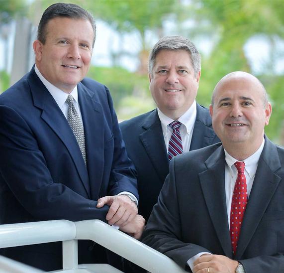 Attorneys John Campione, Lawrence Leonard & Chris Campione